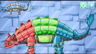 Смотреть прохождение игры для детей на ютубе динозавры роботы