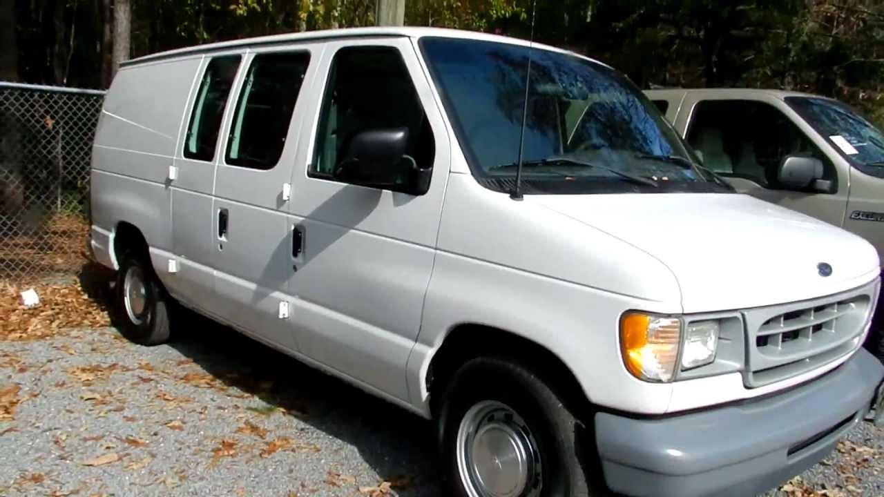 2002 Ford Econoline E 150 Cargo Van For Sale Ravenel Ford