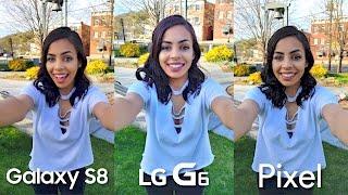 Samsung Galaxy S8 Camera vs LG G6 & Google Pixel!