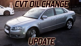 CVT Update: I Had The Transmission Oil Changed