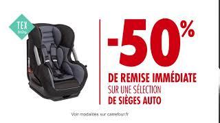 Les meilleures promo siège auto chez Carrefour Market