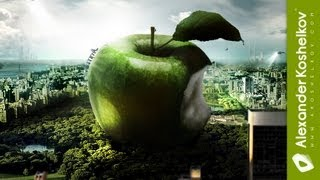 Speed Art Apple Forever (Photoshop CS 5)