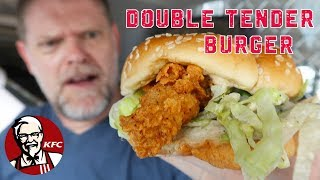 KFC Double Tender Burger Review - Australian Food Reviews