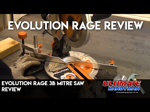 Evolution rage 3b chop saw review