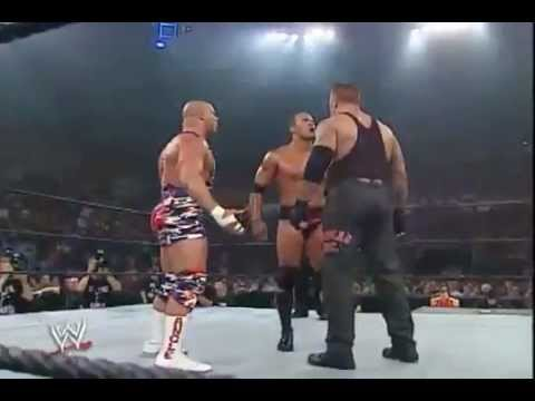 Vengeance 2002: The Undertaker vs The Rock vs Kurt Angle for...