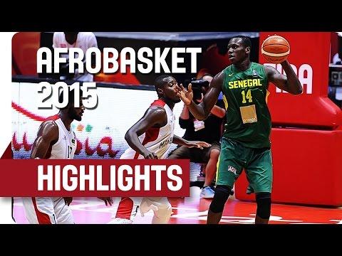 Mozambique v Senegal - Game Highlights - Group B - AfroBasket 2015