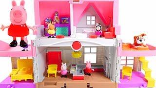 Mejores Videos Para Niños - Peppa Pig Little People House Fun Videos For Kids