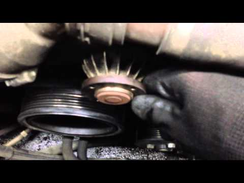 BMW E65 E66 Water Pump Going Bad - Water Pump Bearing Is Making Noise