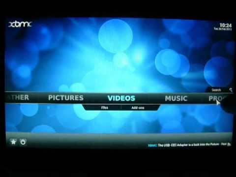 Xbmc media center skin extended player