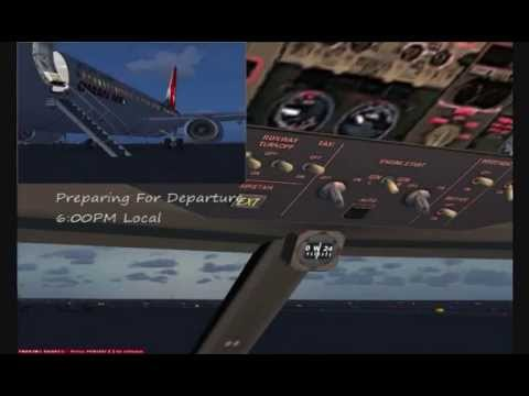 FSX Movie - A Flight From Muscat To Kuwait