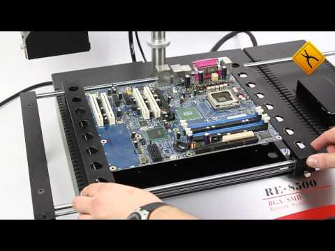 Jovy Systems RE-8500 Infrared BGA Rework Station Video Review