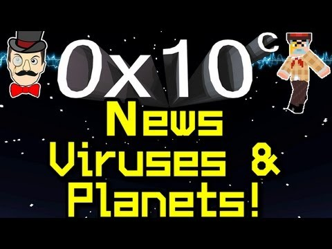 0x10c - News PLANETS and Viruses ! Notch Space Game !