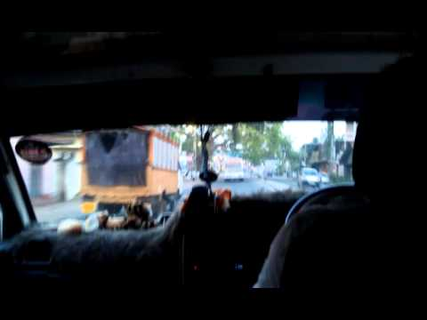Sri Lanka Taxi Ride 1 video