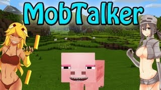 Mob Talker Beta 1.2.5 Minecraft Mod Review and Tutorial
