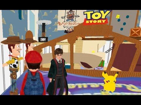 マリオがトイストーリーの世界に乱入!3Dマリオメーカー