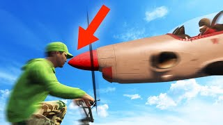 IMPOSSIBLE TO DODGE THIS PLANE! (GTA 5 Funny Moments)