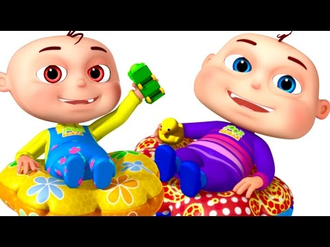 Five Little Babies Playing In Tunnel | Zool Babies Fun Songs | Colors For  Kids