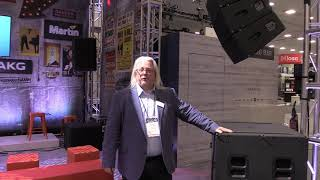 JBL A8 Line Array | B18 | SRX Product Overview (from 2019 NAMM Show)