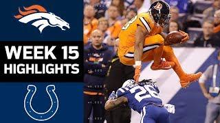 Broncos vs. Colts   NFL Week 15 Game Highlights