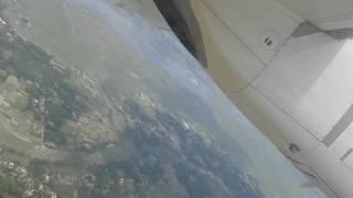 Rajshahi Airport Landing View
