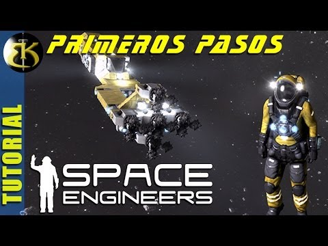 SPACE ENGINEERS ► Diseñando una nave basica