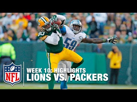 Lions Vs Packers Week 10 Highlights Nfl