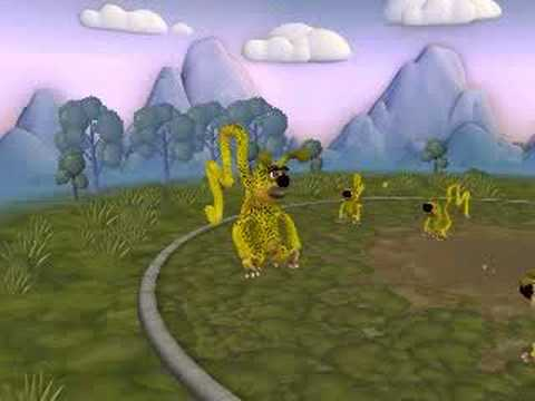 Spore Creature Creator Video - Marsupilami