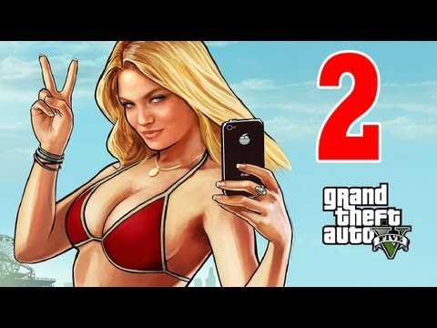 Let´s Play Grand Theft Auto 5 / GTA V Gameplay Deutsch - Part 2 - Back in Los Santos