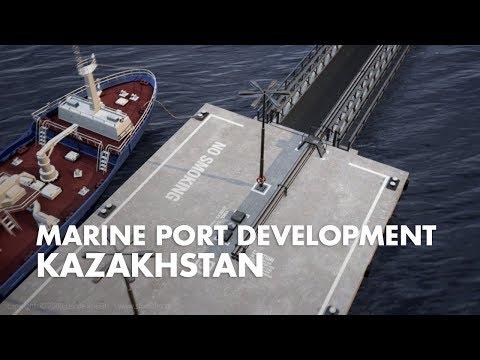 Marine Base Development in Kazakhstan