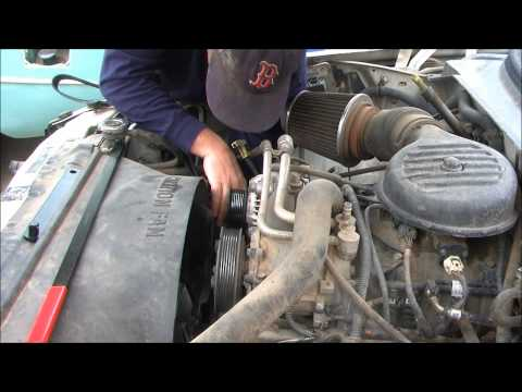 1998 Dodge Dakota Replacing the Serpentine belt