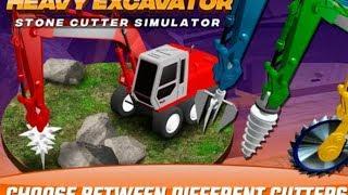 Heavy Excavator Stone Cutter Simulator#Trò chơi máy xúc Đào làm việc máy xúc khoan làm việc