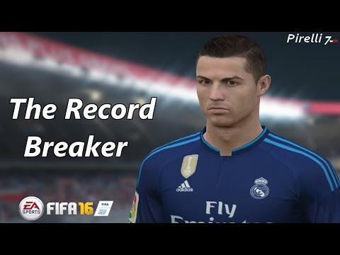 FIFA 16: Cristiano Ronaldo - Record Breaker - Goals & Skills |Special Fifa Remake| - Pirelli7