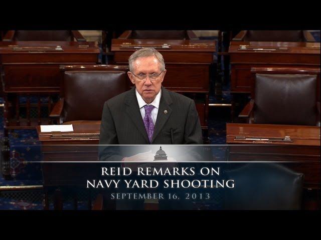Reid Remarks on Navy Yard Shooting