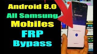 Without Computer Oreo 8.0 | Samsung S8 Plus G955U G955F G955W FRP Bypass Remove | Urdu Hindi