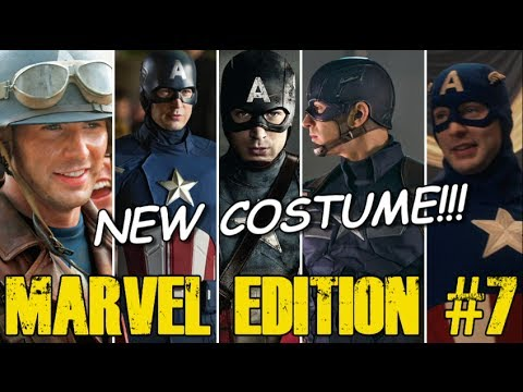 Captain America's NEW Avengers Costume - [MARVEL EDITION #7]