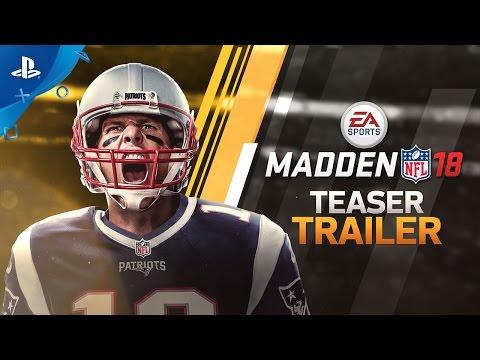 Madden 18 - Official Teaser Trailer | PS4