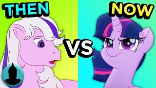 My Little Pony - Then vs Now - Evolution of My Little Pony (Tooned up S5 E43)