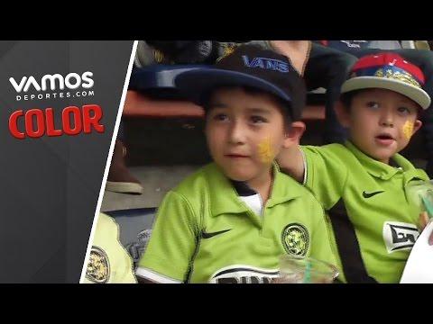 América vs Monterrey, espectáculo para niños