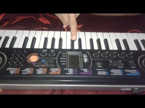 Hum bengali hun punjabi- the patriotic song on piano by tillu