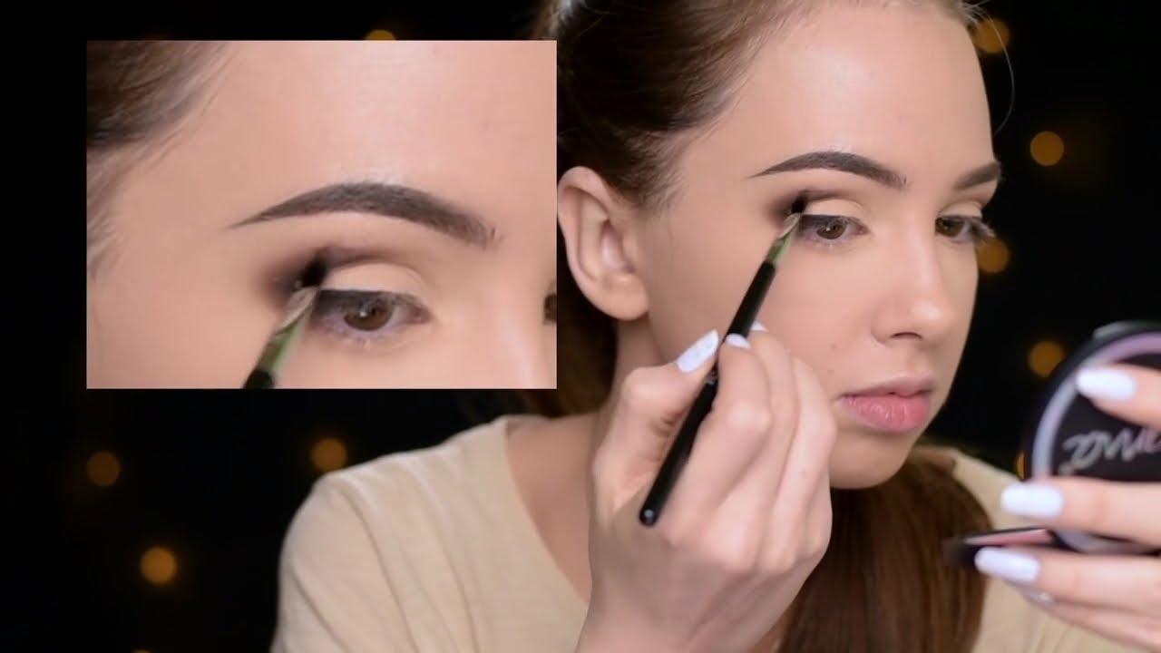Как сделать макияж глаз ютуб