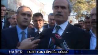Tarihi han ��pl��e d�nd� ! (V�DEO)