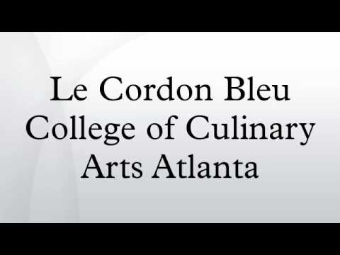 Le Cordon Bleu College Of Culinary Arts Atlanta - Le Cordon Bleu College of Culinary Arts Atlanta - YouTube - Oct 30, 2014 ... Le Cordon Bleu College of Culinary Arts Atlanta is a 2-year private for-profit   college in Georgia. The college is owned by Career Education ...