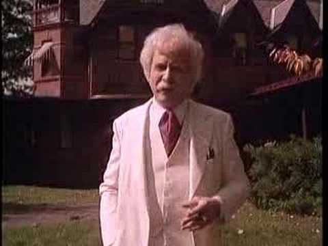 Mark Twain: How I Came Into Literary Profession (clip)