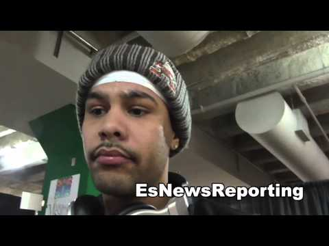 miguel gonzalez says Terence Crawford  is ducking him call him out EsNews Boxing