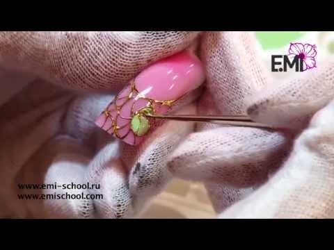 Сердце океана - мастер-класс по дизайну ногтей от Екатерины Мирошниченко
