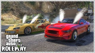 GTA 5 Roleplay - Shut Down High Way Drag Racing Monster Mustang | RedlineRP #246