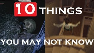 10 things you might not know - Dark Souls Remastered