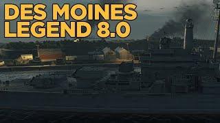 Des Moines Legend 0.8.0 - World of Warships