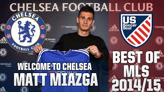 Matt Miazga ● Skills, Tackles, Highlights MLS 2014/15 ● US Soccer Soul | HD