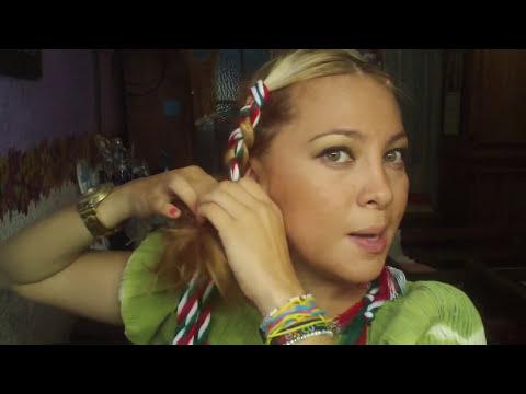 Cómo hacerte una trenza mexicana